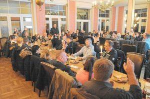 Sehr gut besucht war die Jahreshauptversammlung der Gewerbegemeinschaft Sonnenschein am Mittwochabend im Café-Restaurant Bagno. Foto: Drunkenmölle